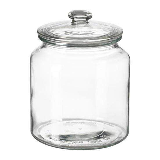 IKEA VARDAGEN Glas Mit Deckel Klarglas Größe 1,9 L 1,8 L U2013 Günstig ...
