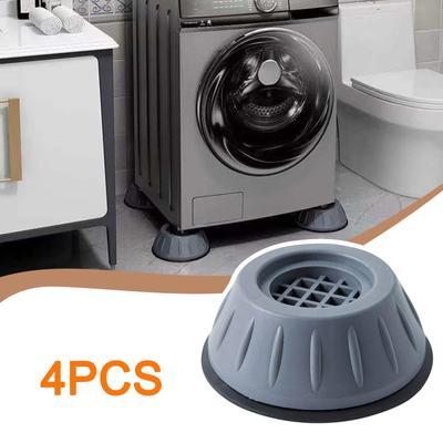 4Pcs Washing Machine Anti-vibration Mute Protection Mat Anti-skid Foot Pad Dryer