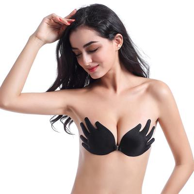 2eaae42bd1582 Women Wings Of The Goddess Instant Breast Lift Invisible Silicone Push Up  Bra
