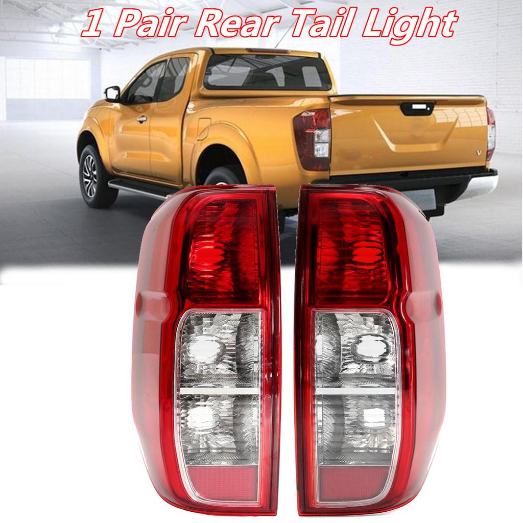 Right For 2005-2015 Toyota Tacoma Pickup Truck Red Clear Rear Tail Lights Brake Lamps Replacement Pair Left