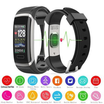 SchöN Y8 Bluetooth Volle Metall Farbe Heart Rate Blutdruck Monitor Wasserdichte Sport Smart Uhr Für Ios Und Android Geschenke Partneruhren