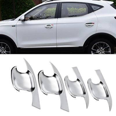 Interior Door Handle Cover Matte Plated 4 PCS For Ford Escape Kuga 2017-2018