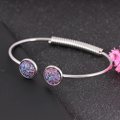 Japan And South Korea Temperament Bracelet Fashion Color Frosted Sequins  Ladies Adjustable Jewelry 540624aee0e9