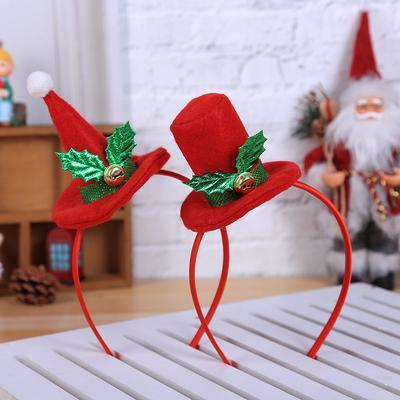 Christmas Headband New Year Xmas Party Hairband Clasp Hoop Headwear Hair Bands