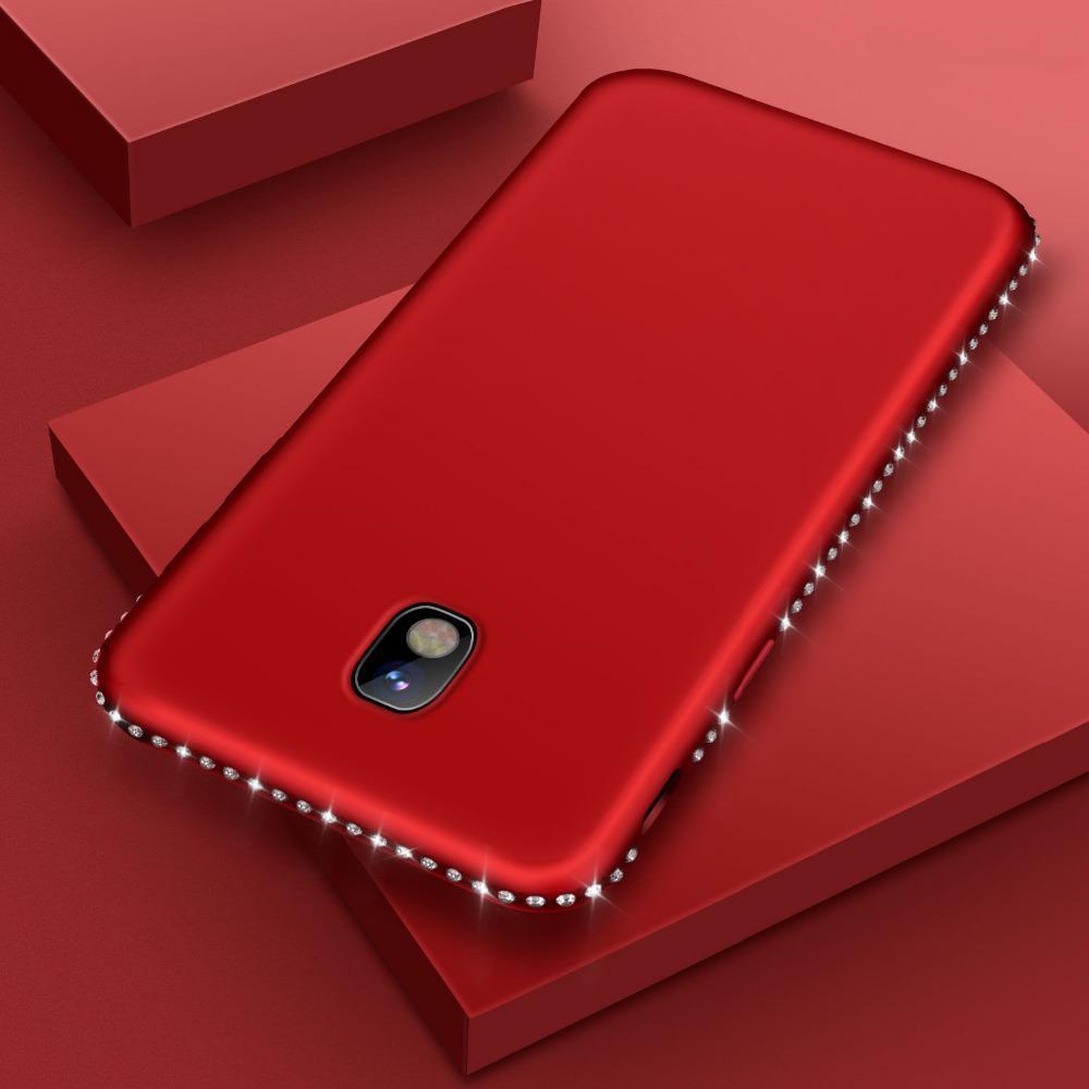 Горный хрусталь мягкий силиконовый чехол для Samsung Galaxy J3 J5 J710 J3 J5 J730 A3 A5 A720 A5 A6 A7 фото