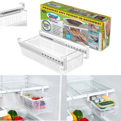 Fridge Drawers Refrigerator Pull Out Bins Snap On Drawer