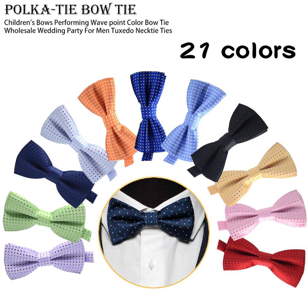 Golden Waves Bow Tie for Men Adjustable Pre-tied Bowtie Wedding Party Accessories