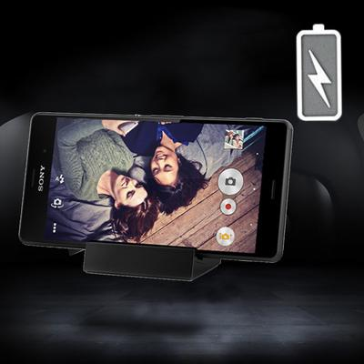 Plug and Play Magnetic Charging Dock Cradle Stand Charger for Sony Xperia Z3