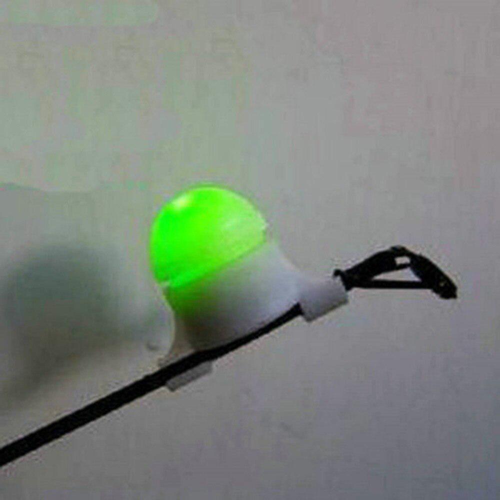 10pcs Night Fishing Rod Tip Light Holder Fishing Tackle Accessory Clip M #Z