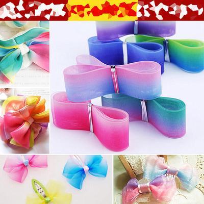 20PCs 1 yard Each Piece Grosgrain Ribbons for Crafts DIY Multi-color 25mm