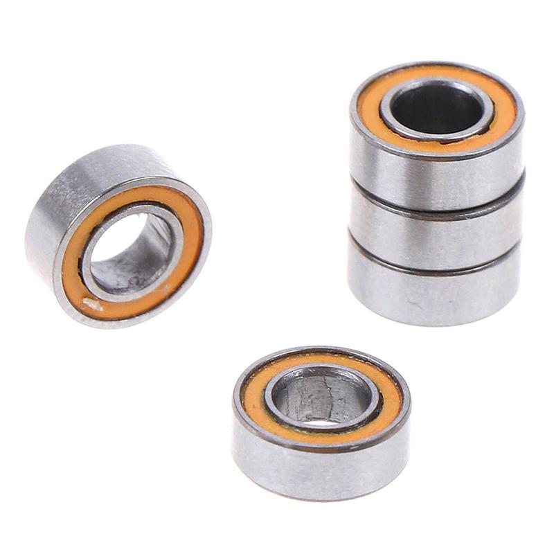 10 PCS MR85-2RS 5x8x2.5 mm Rubber Double Sealed Ball Bearing Bearings MR85RS
