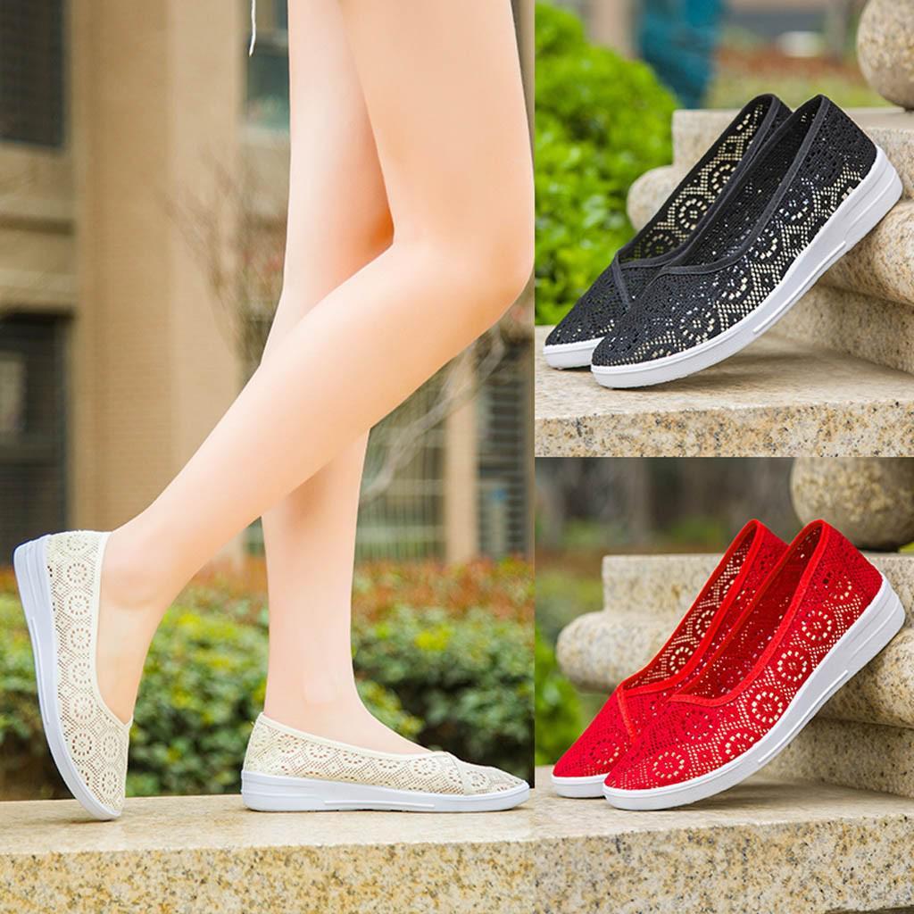 Женщины Квартира Спортивный Ходьба Бег Ходьба Спорт Кроссовки Ходьба обувь купить недорого — выгодные цены, бесплатная доставка, реальные отзывы с фото — Joom