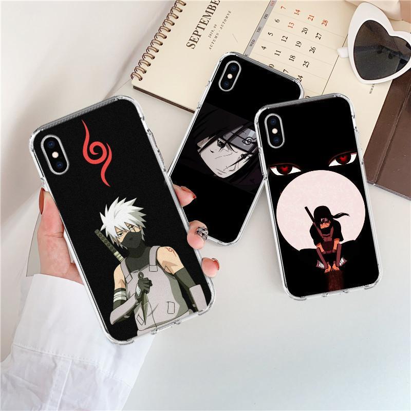 Наруто аниме TPU-PC Сотовый телефон Чехол для iPhone 7 5s для Xiaomi – купить по низким ценам в интернет-магазине Joom