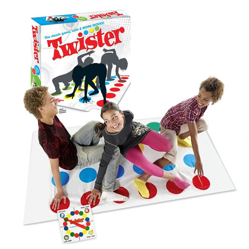 Fun Twister Educational Toy Game Pad for Kids Adult Sports Moves Family Game US
