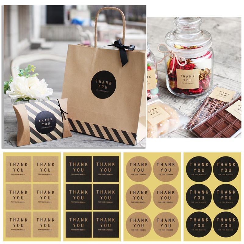 60x Handmade Label Sealing Sticker Candy Bag Wedding Party Gift Package Decal