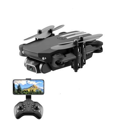 New Mini Drone 4K 1080P HD Camera WiFi Fpv Air Pressure Altitude Hold Black And Gray Foldable
