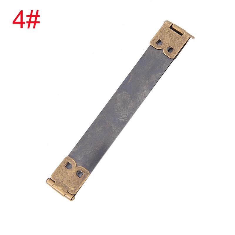 10pcs Shrapnel Mouth for Purse Making Supplies Frame Kiss Clasp Bronze 8.5cm