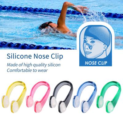 Nose Clip Boxed Silicone Soft And Comfortable Adult Children Swimming Nose ClipH