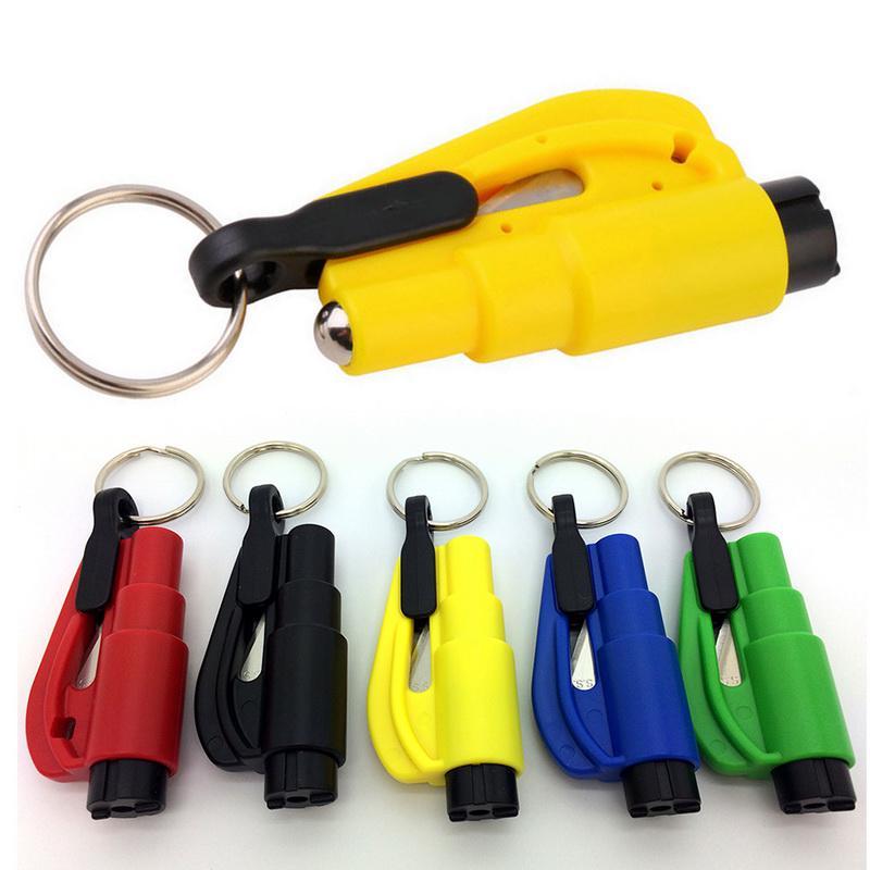 Portable 3 in 1 Mini Car Safety Hammer Emergency Escape Kit Car Window Breaker