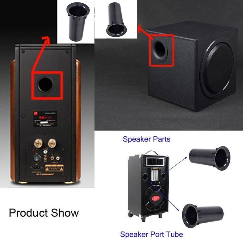 Speaker Port Tube Subwoofer Bass Reflex Tube Speaker Box Port Tube