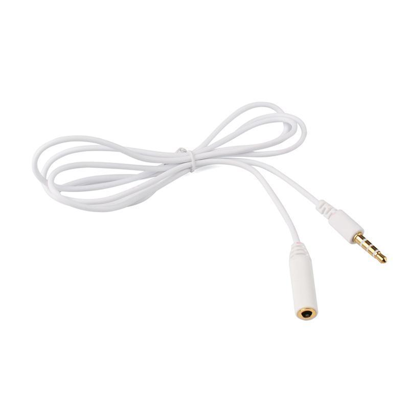 1m 3 5mm Male To Female 4 Pole Jack Stereo Audio Headphone Extension