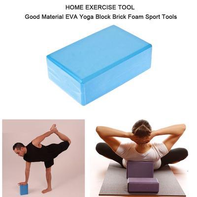 23 x 15 x 8 cm Transer Exercise Fitness Yoga Blocks Foam Bolster Pillow Cushion EVA Gym Training Green Yoga Block