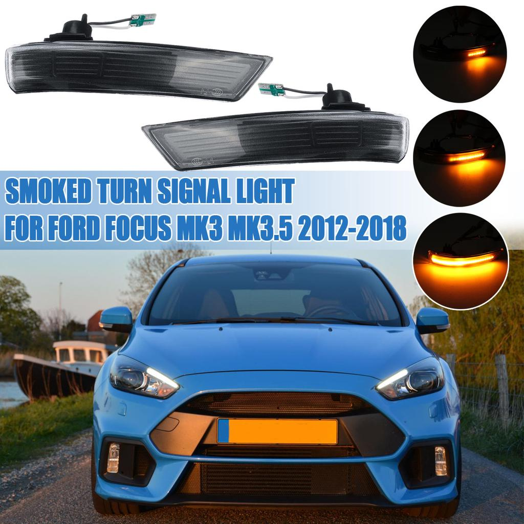 Pair Smoked Rear View Mirror Turn Signal Light For Ford Focus Mk3 Mk3 5 12 17 Kopen Tegen Lage Prijzen Op Joom Webwinkel