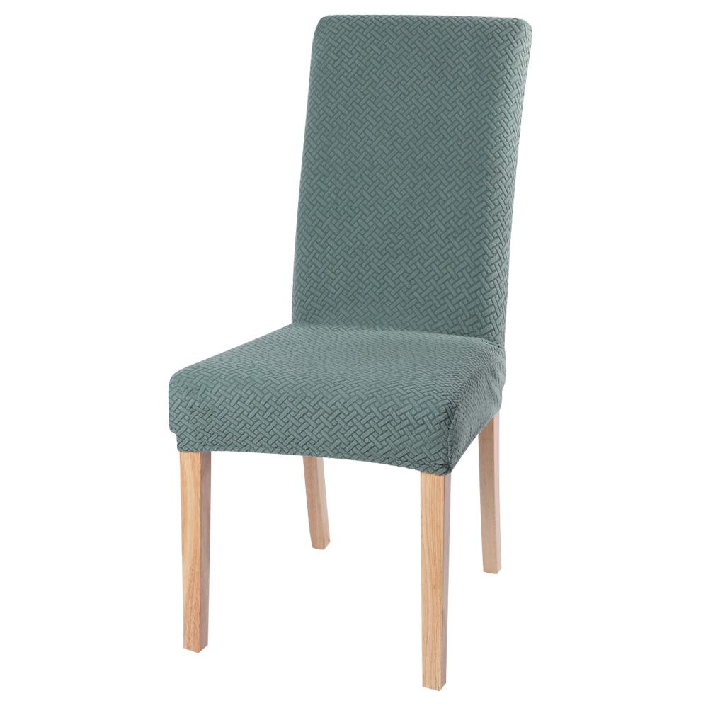 Solid Stretch Spandex Chair Covers Removable Slipcovers Seat Covers Dining Room