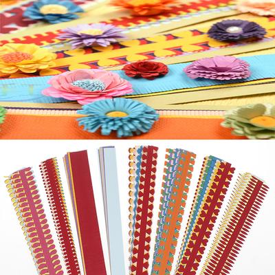 10Pcs DIY Quilling Pen Crimping Tool New Slotted Paper Scrapbooking Craft Random