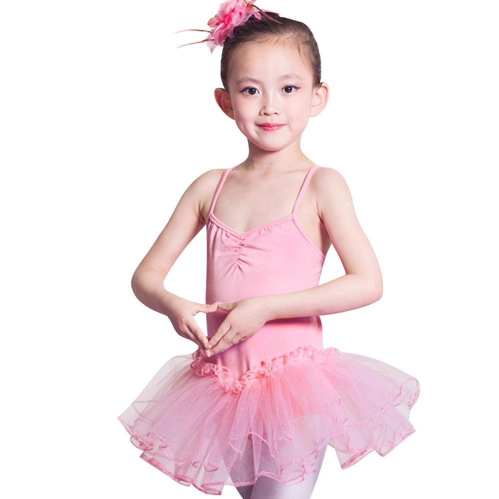 Niños camiseta leotardo Ballet niñas danza falda tutú de hadas ...