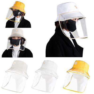 Kid Anti-droplet Protective Baffle Bucket Hat Epidemic Prevention Fishman Cap