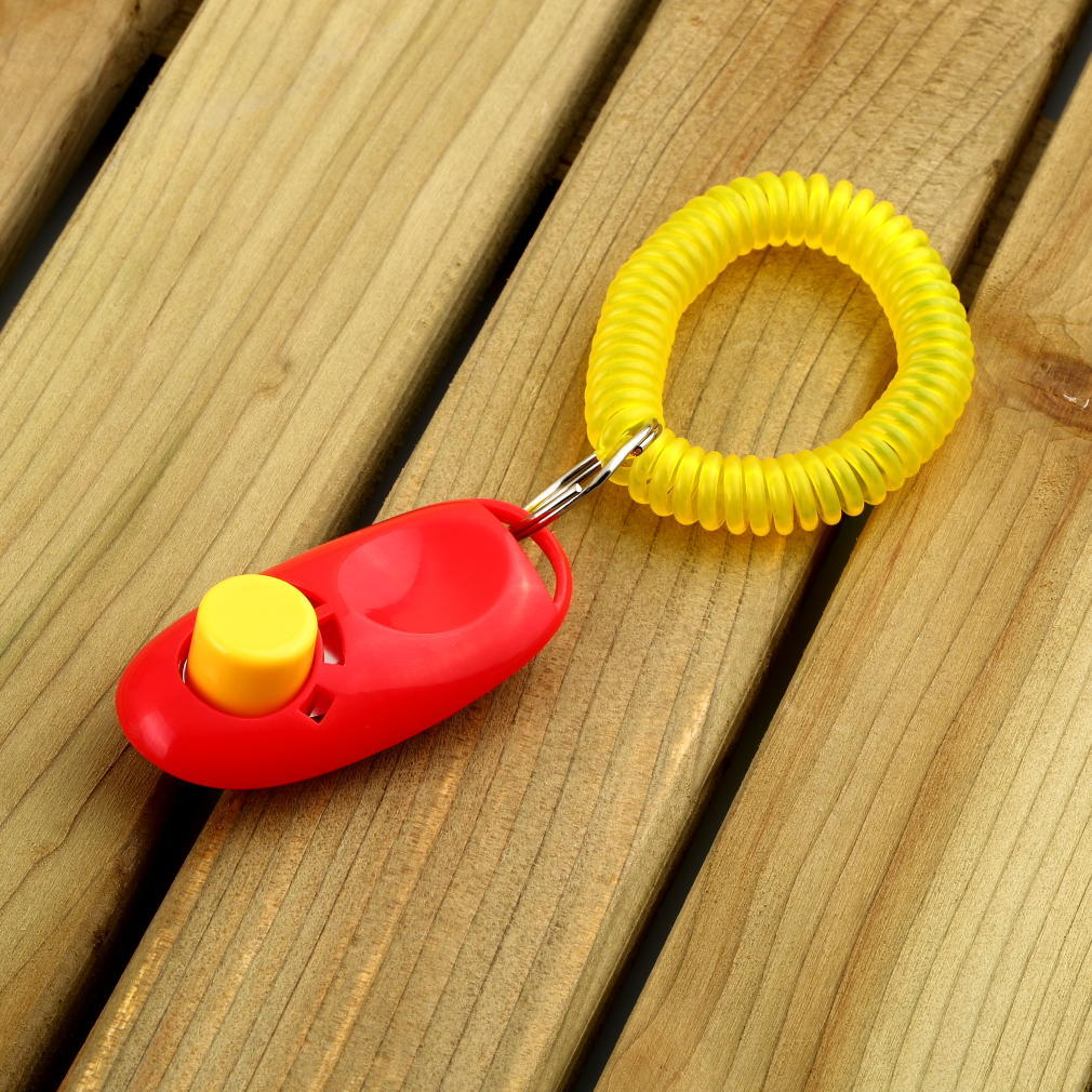 Dog Pet Click Clicker Training Obedience Agility Trainer Aid Wrist Strap-buy at a low prices on Joom e-commerce platform