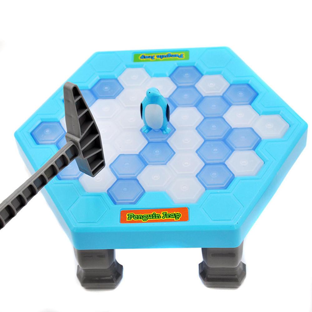 拯救破冰企鹅益智桌面游戏敲打企鹅敲冰块积木玩具