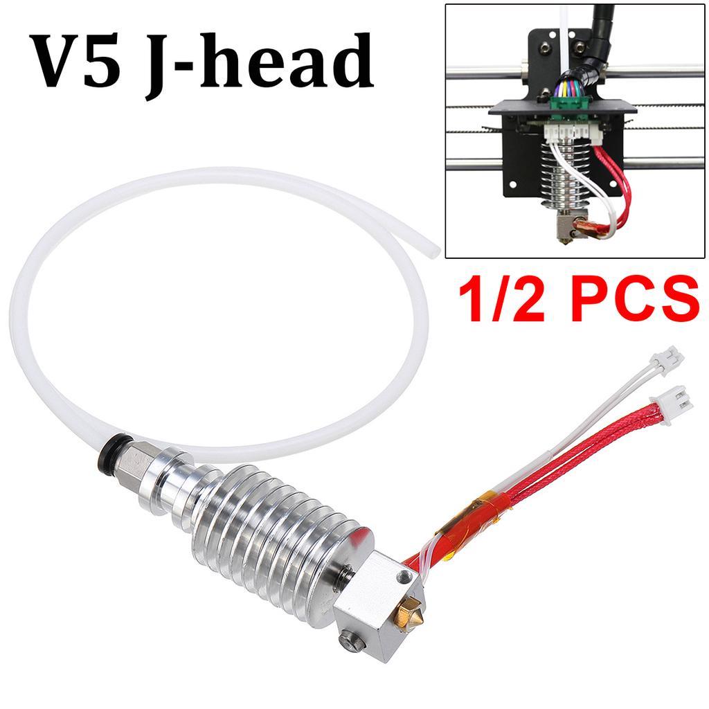 V5 J-head Hot End Remote 0.4 mm//1.75 mm for Anycubic I3 Mega 3D Printer Extruder