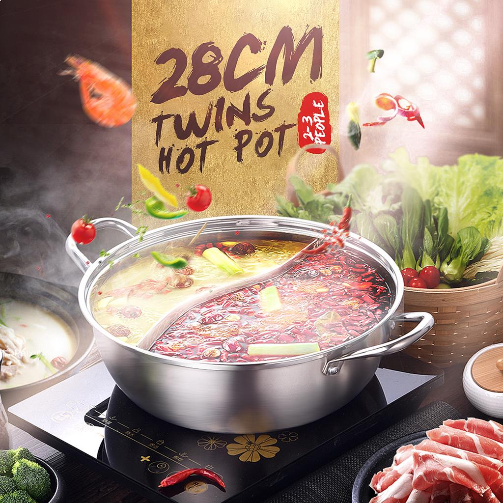 Hot Pot Restaurant Special Soup Pot Home Induction Cooker Stove Gas Cooking