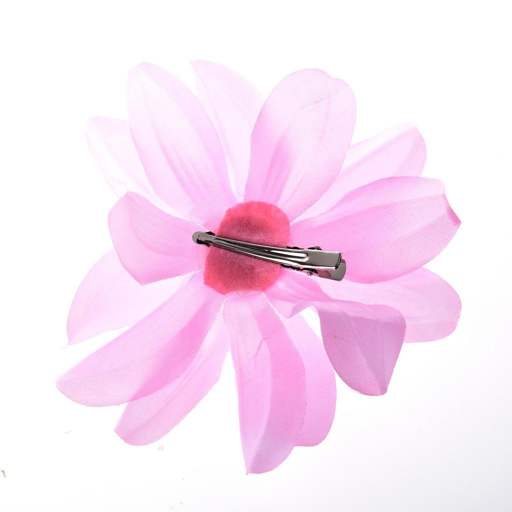 Pinza de pelo del rhinestone flor de lirio para señora bebé niñas ...