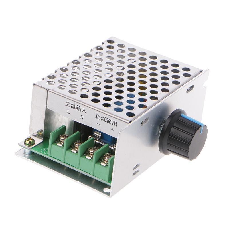 AC220V Bis DC 0-220V 0-400W Digitalanzeige Motor Drehzahlregler Speed Controller