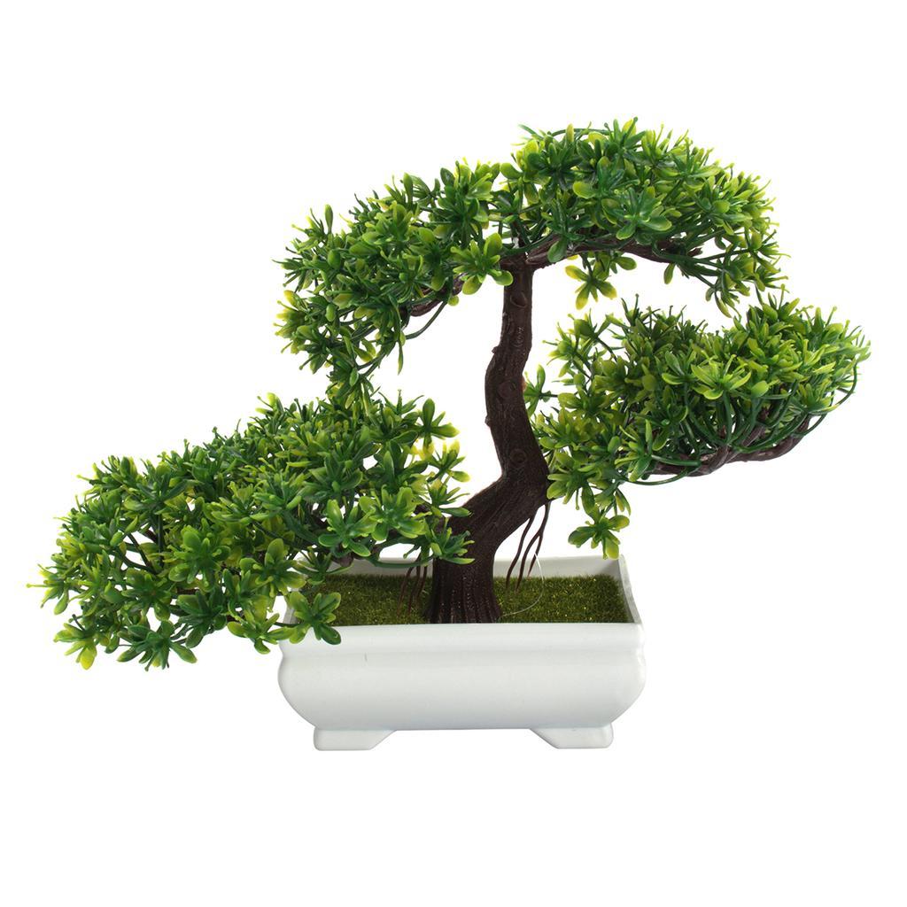 Sztuczne Doniczki Plastikowe Doniczki Bonsai Home Garden Dekoracje Roślin Biurowych
