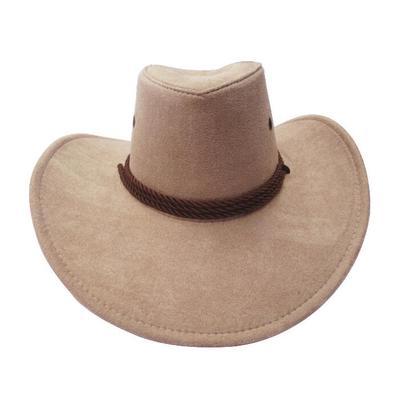 59c4ba45213 New Cowboy Cap Suede Look Wild West Fancy Dress Mens Womens Cowgirl Unisex  Hat Colors