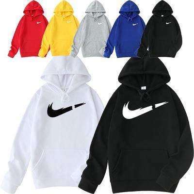 Men's Hooded Sweater Fleece Hoodie Solid Color Blank Sweater Men