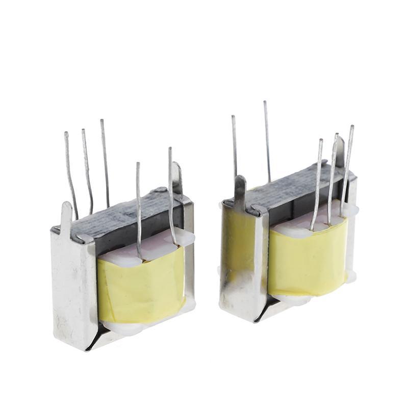 2Pcs audio output transformer 1:1 EI-19 EI19 800:800 high RF