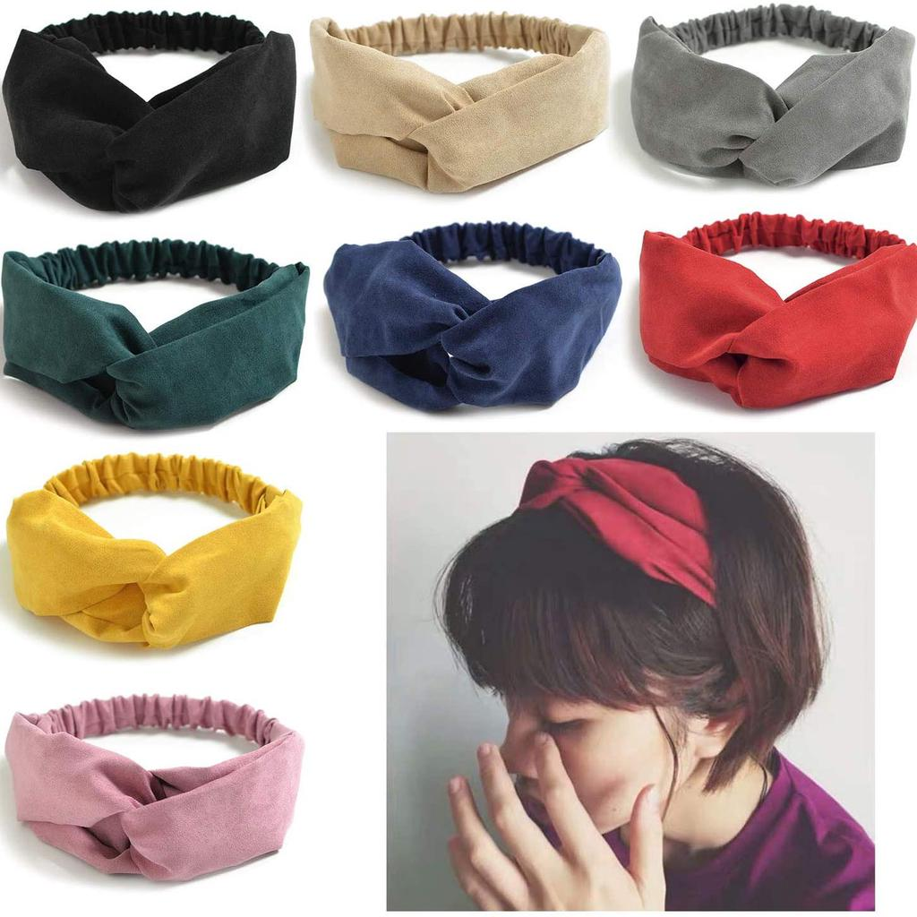 Details about  /Lady Girls Lace Headband Retro Hair Band Wide Head Wraps Hair Accessories
