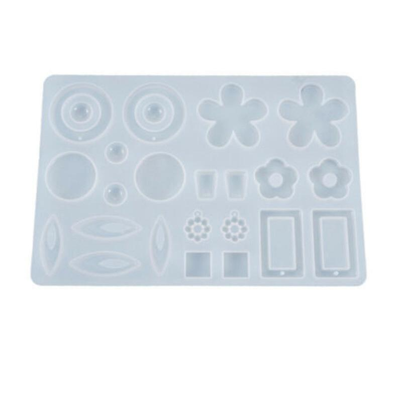 Jewelry Mold Tool Mould Silicone Epoxy Resin Craft DIY Casting Earring Pendant