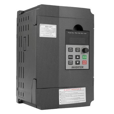 2.2kw 2hp CNC VARIABLE FREQUENCY INVERTER VFD 220v single phase to three phase 380v