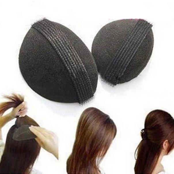 2 ПК Увеличение волос Пушистый Губка плита волос Pad волос устройства фото