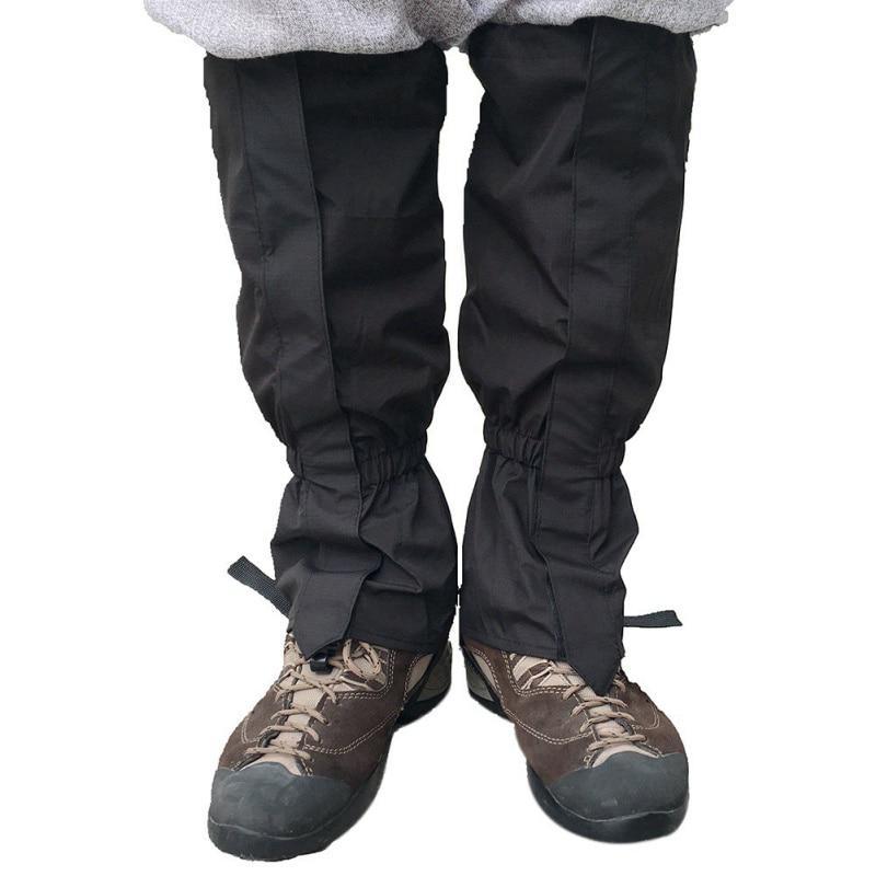 1 Pair Hunting Skiing Walking Leg Gaiters,Hiking Gaiters,Warmth Gaiters,Windproof Waterproof Gaiters,Outdoor Walking Climbing Legging Gaiter,Lightweight Snow Gaiters,for Mountain Snow Climbing
