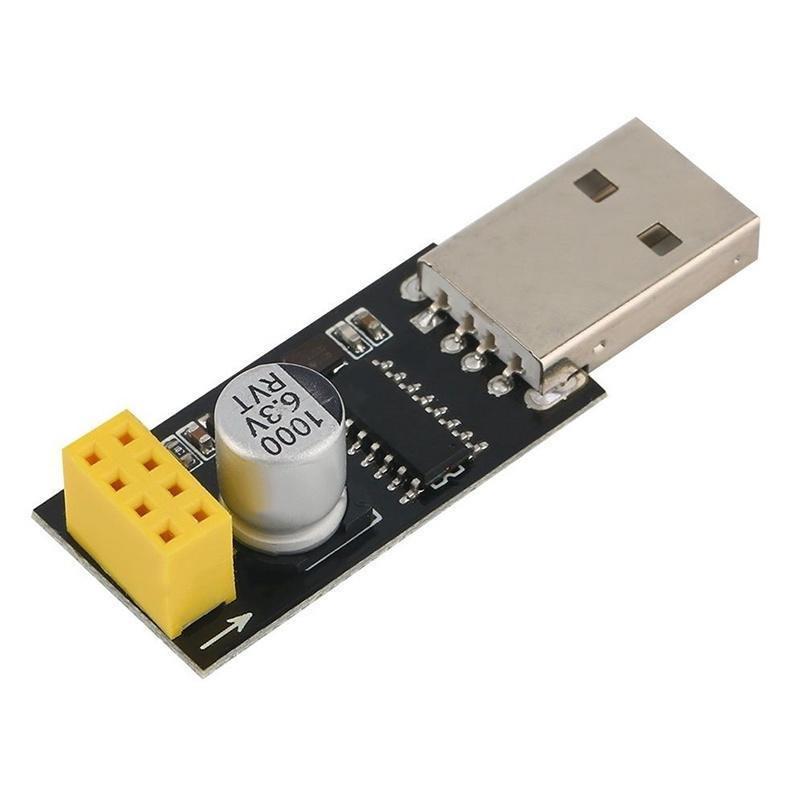 1//2//5PCS USB to ESP8266 ESP-01 TTL Wifi Module Development Board Adapter CH340G