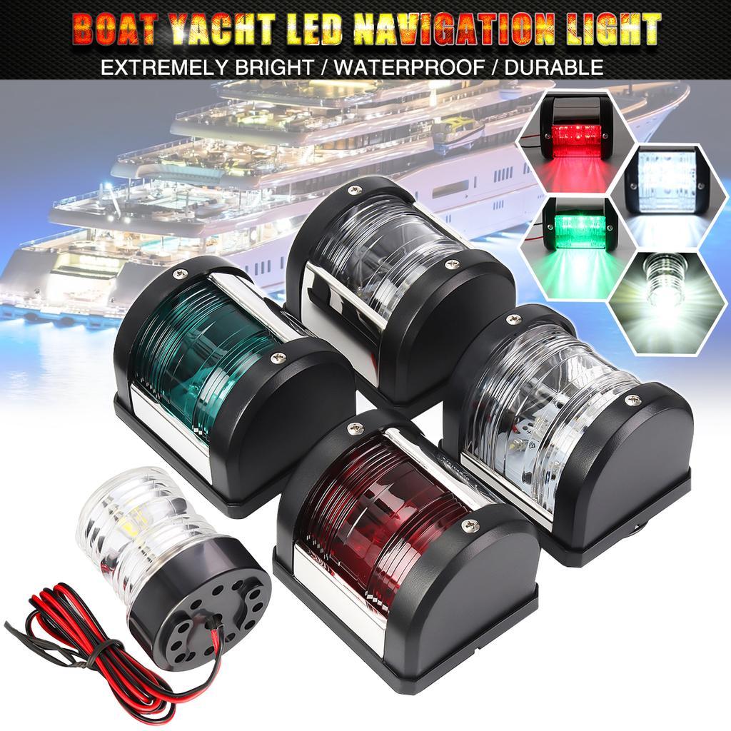 yacht up to 12m Marine LED navigation lights 12v port /& starboard for boat