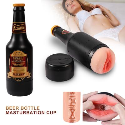 Men's Bottle Shaped Masturbator Cup Enlarge Sex Toys Massgae  Device