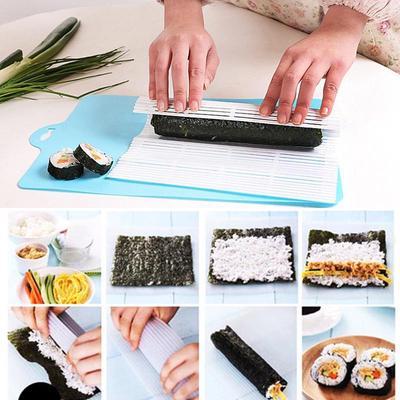 1 Stk 2016 Neue Mode Kunststoff Sushi Rollen Matte DIY Sushi Nori Roll  Gimbap Maker Küche